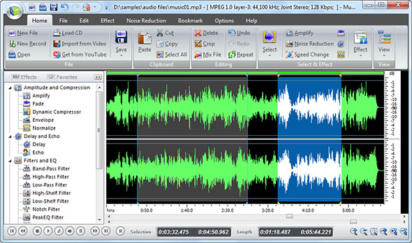 Load the Audio File